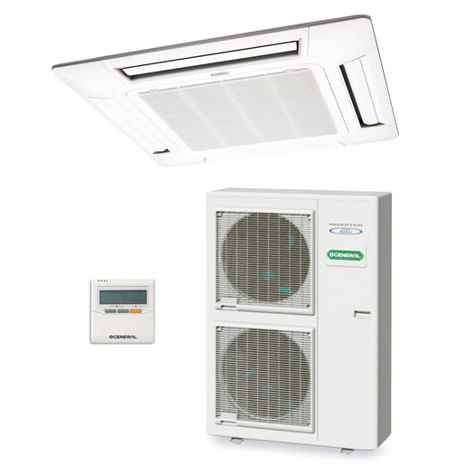 Aire acondicionado 1x1 General AUG54UIAT-LR split cassette Inverter