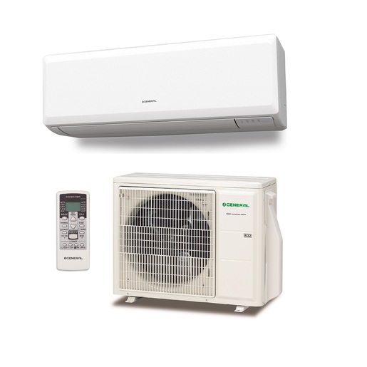 Aire acondicionado 1x1 General ASG12UI-KP split pared Inverter