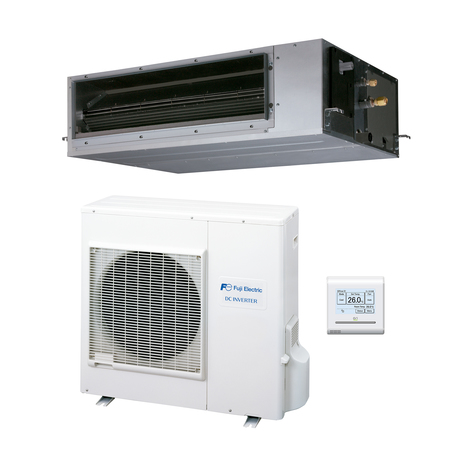 Aire acondicionado 1x1 Fuji Electric ACF30UIA-LB split conductos Inverter media presión - 3NFE8970
