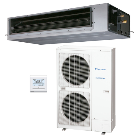 Aire acondicionado 1x1 Fuji Electric ACF54UIA-LB split conductos Inverter media presión - 3NFE8985