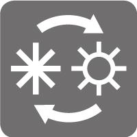 Cambio automático frío/calor