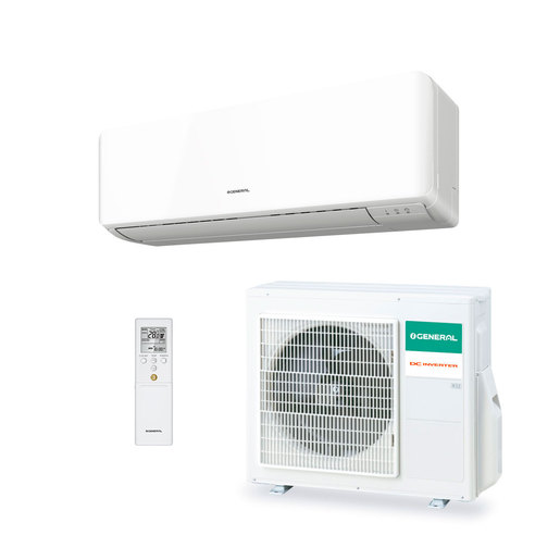 Aire acondicionado 1x1 General ASG14UI-KM split pared Inverter