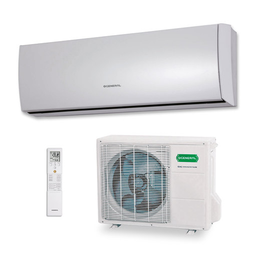 Aire acondicionado 1x1 General ASG12UI-LT split pared Inverter